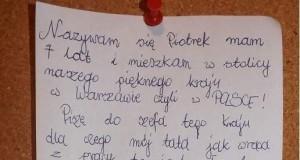List do szefa kraju
