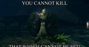 Nie dasz rady mnie zabić!
