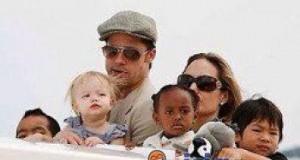 Dzieci Brada i Angeliny