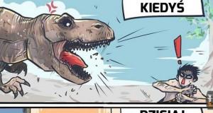Dinozaury zawsze budziły grozę