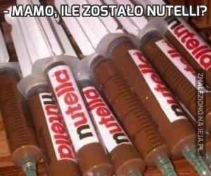 - Mamo, ile zostało Nutelli?