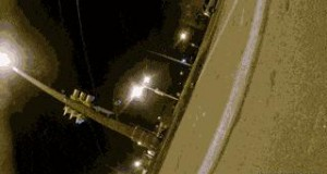 Kamera przyczepiona do koła samochodu