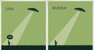 Raz UFO poleciało nad Rosję...