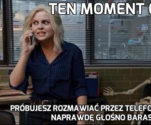 Ten moment gdy