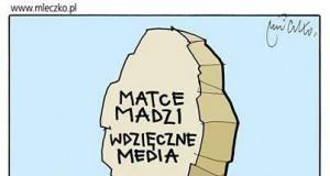 Polskie media dziękują