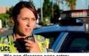 Policjantka na służbie