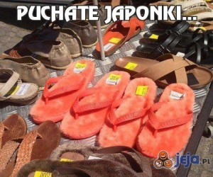 Puchate japonki...