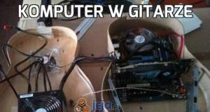 Komputer w gitarze