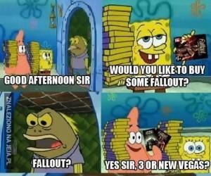Chwilę przed premierą Fallout 4....