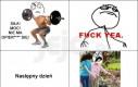 Dzień po siłowni