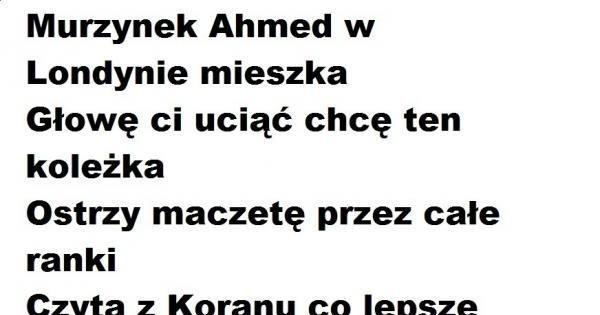 Murzynek Ahmed Jejapl