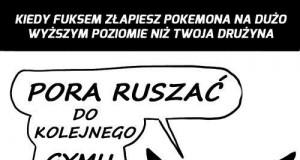 Pokemon musi znać swoje miejsce