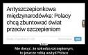 Nie dosyć, że szkodzą szczepionym, to jeszcze robią wstyd Polsce