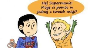 Myślę, że Aquaman jest i tak fajny