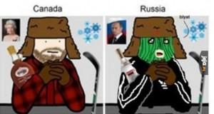 Jak odróżnić rosyjskiego hokeistę od kanadyjskiego