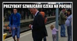 Prezydent Szwajcarii bez ochrony
