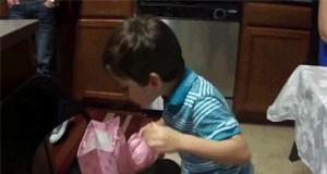 Radość z prezentu