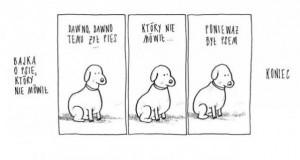 Bajka o psie, który nie mówił
