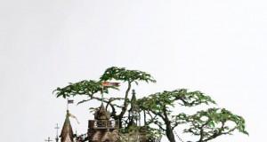 Wioska na drzewku bonsai