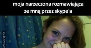 Narzeczona vs żona na Skype
