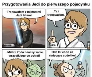 Trening Jedi