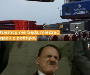 Niemcy nie będą mieszać gazu z polityką