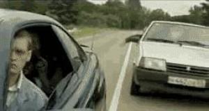 Szpanerzy na drodze
