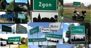 Ciekawe nazwy miejscowości