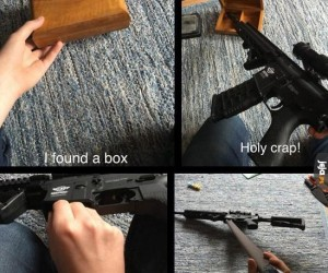 Znalazłem pudełko