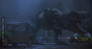 Nie ma to jak pocisk na matkę T-Rexa...