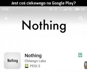Nic, zupełnie nic...