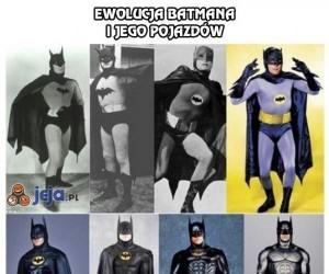 Ewolucja Batmana i jego pojazdów