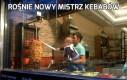 Rośnie nowy mistrz kebabów