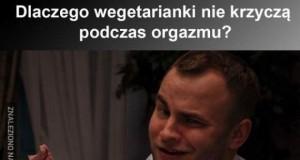 Orgazm wegetarianki