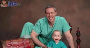 Ojciec chirurg...