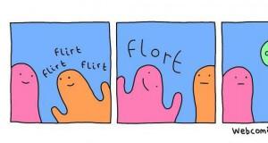 Upośledzony flirt