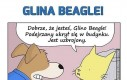 Glina Beagle negocjuje z bandytą