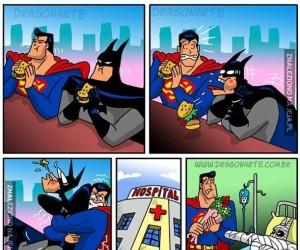 Superman chciał dobrze...