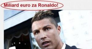 Miliard Euro za Ronaldo