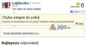 Wstąpienie do policji