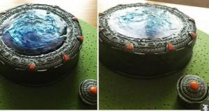 Ciasto w kształcie Gwiezdnych Wrót