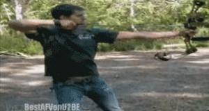 Gdy naprawdę nie umiesz strzelać z łuku