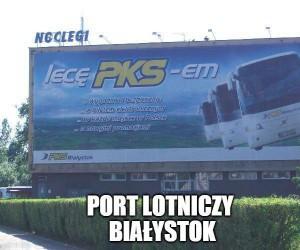 A Wy co, dalej w normalnych busach?
