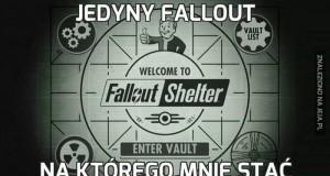 Jedyny fallout