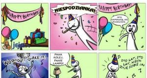 Najlepsze urodziny ever
