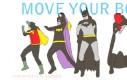Zatańcz z Batmanem