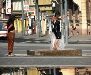 Wykorzystanie fontanny