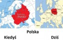 Granice Polski kiedyś i dziś