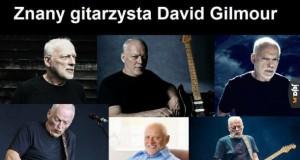 Znany gitarzysta