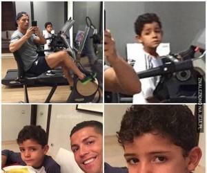 Ciężko jest być synem Ronaldo